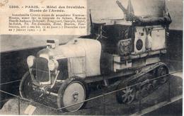 MUSEE DE L'ARMEE - PARIS - AUTOCHENILLE CITROEN , Munie De Propulseur Kégresse-Hinstin - BE - Matériel