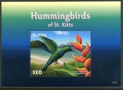 ST. KITTS 2015** - Colibri / Hummingbirds - Block MNH  Come Da Scansione.