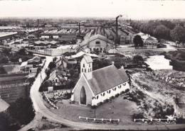 Bourbon Lancy - La Chapelle De St Denis Et Les Usines SIMCA (ateliers, Cheminées) Circ Sans Date, Sous Enveloppe - France