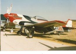 PHOTO AVION NORTH AMERICAN MUSTANG P51 MEETING   10X15CM - 1946-....: Moderne