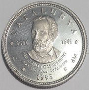 1 ECU CATALUNYA 1993 PAU CLARIS CASADEMUNT (1586-1641)   PLATA - Monedas