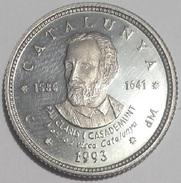 1 ECU CATALUNYA 1993 PAU CLARIS CASADEMUNT (1586-1641)   PLATA - Otras Monedas