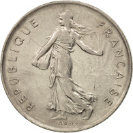France, Semeuse, 5 Francs, 1974, Paris, TTB+, Copper-Nickel,KM 926a.1,Gad 771 - France