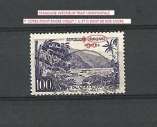 * 1959  N° 1194  RIVIÈRE SENS GUADELOUPE OBLITÉRÉ - Errors & Oddities