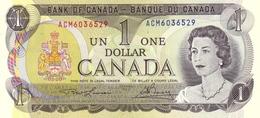 CANADA 1 DOLLAR 1973 P-85a UNC SIGN. LAWSON & BOUEY [CA348a] - Canada