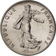 France, Semeuse, 1/2 Franc, 1975, Paris, FDC, Nickel, KM:931.1, Gadoury:429 - G. 50 Centimes