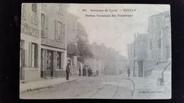 CPA D69 Ecully Terminus Tramways - Frankreich