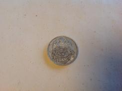 Monnaie. 2. Louis II Prince De Monaco. 5 Francs 1945. - Monaco