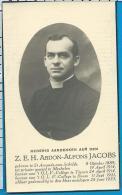 Bp    Z.   Eew. H.   Jacobs   St. Amands - Aan - Schelde   Tienen    Boom - Andachtsbilder