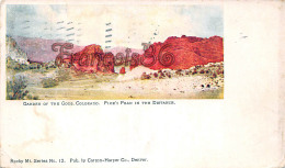 Garden Of The Gods Colorado CO - Pike's Peak In The Distance - Ed. Denver - Denver