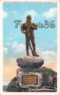 Statue In Honor Of The Green Mountain Boys - Rutland - VT Vermont - Rutland