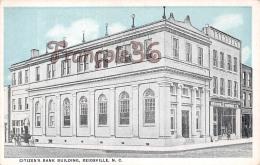 Citizen's Bank Building - Reidsville - N C North Carolina - Etats-Unis