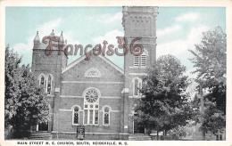 Main Street M. E. Church South - Reidsville - N C North Carolina - Etats-Unis