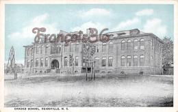 Graded School - Reidsville - N C North Carolina - Etats-Unis
