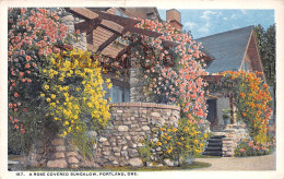 A Rose Covered Bungalow - Portland Oregon Or Ore - Portland
