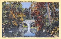 Rex Avenue Bridge - Fairmount Park - Philadelphia - PA Pennsylvania - Philadelphia