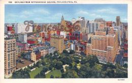 Skyline From Rittenhouse Square - Philadelphia - PA Pennsylvania - Philadelphia