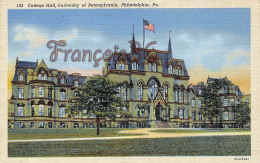 College Hall - University Of Pennsylvania - Philadelphia - PA Pennsylvania - Philadelphia