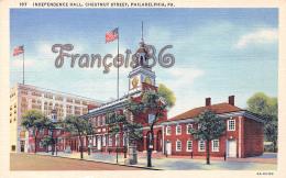 Independence Hall - Chestnut Street - Philadelphia - PA Pennsylvania - Philadelphia