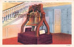 Liberty Bell - Independence Hall - Philadelphia - PA Pennsylvania - Philadelphia
