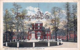 Barry Statue And Independence Hall - Philadelphia - PA Pennsylvania - Philadelphia