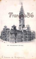 City Hall - Philadelphia - PA Pennsylvania - La Mairie - Philadelphia