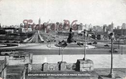 Skyline View From Parkway - Philadelphia  - PA Pennsylvania - Philadelphia