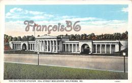 The Baltimore Stadium - 33rd Street Boulevard - MD Maryland - Baltimore