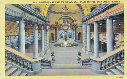 Corridor And Main Stairways - Utah State Capitol - Salt Lake City UT - Salt Lake City