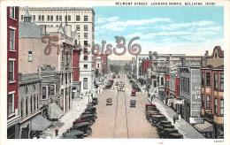 Belmont Street - Looking North - Bellaire - OH Ohio - Etats-Unis
