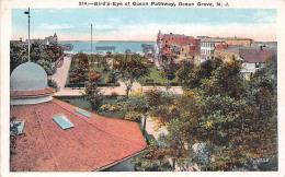 Bird's Eye Of Ocean Pathway - Ocean Grove - NJ New Jersey - Etats-Unis