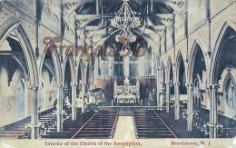 Interior Of The Church Of The Assumption - Morristown NJ New Jersey - Etats-Unis