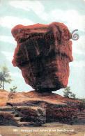 Balanced Rock Garden Of The Gods Colorado - Colorado Springs CO - Colorado Springs
