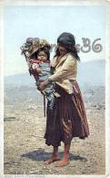Arizona - White Mountain - A Cute Little Apache - Native American Indians - Etats-Unis