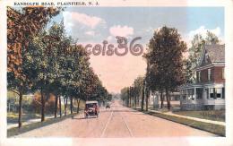 Randolph Road - Plainfield - NJ New Jersey - Automobile Voiture Ancienne Vintage Car - Etats-Unis