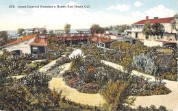 Inner Court Of Ramona's Home - San Diego - CA Cal California - San Diego