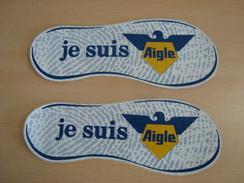 Lot De 2 Autocollants JE SUIS AIGLE - Stickers
