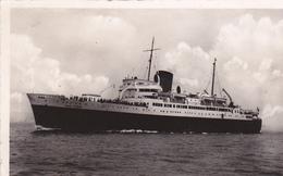 """PAQUEBOT """"VILLE D'ORAN """" COMPAGNIE GÉNÉRALE TRANSATLANTIQUE. LIGNES DE LA MÉDITERRANÉE. ANNÉE 1951 - Dampfer"""