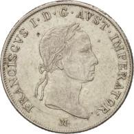 Autriche, Franz II (I), 20 Kreuzer, 1831, Mailand, SUP+, Argent, KM:2147 - Autriche
