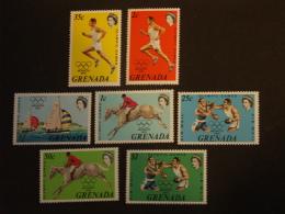 Grenada Grenade 1972 Jeux Olympiques De Munich Yv 436-440 + PA 20-21 MNH ** - Grenada (1974-...)