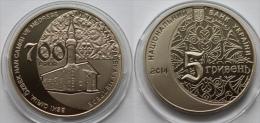 "Ukraine 5 Hryvnias 2014 ""700y Of Ozbek Han Mosque And Madrasa"" UNC - Ukraine"
