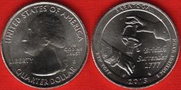 "USA Quarter (1/4 Dollar) 2015 D Mint ""Saratoga"" UNC - 2010-...: National Parks"