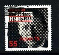 GERMANY Mi.Nr. 2927 100. Geburtstag Von Axel Springer - Used - Gebraucht