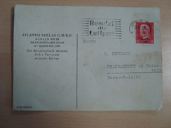 CP ATLANTIS VERLAG G.M.B.H BERLIN SW 68  1930 - Ohne Zuordnung