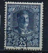 PIA - MONTENEGRO - 1913 : Re Nicola I°  - ( Yv 106) - Montenegro