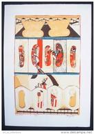 Trois Lithographies Originales De Janine Mongillat - Lithographies
