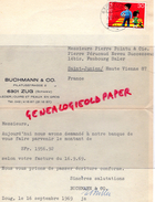 SUISSE-LETTRE BUCHMANN - PILATUSSTRASSE 2- ZUG- PIERRE POINTU E PIERRE PERUCAUD  MEGISSERIE SAINT JUNIEN- GANTERIE- 1969 - Suisse