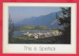 218900 / SPETSAI - PANORAMA GENERAL VIEW ,  Greece Grece Griechenland Grecia - Groenlandia