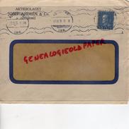 SUEDE- GOTEBORG - ENVELOPPE JOSEF ANDREN -AKTIEBOLAGET-1931 CUIR MEGISSERIE - Invoices & Commercial Documents