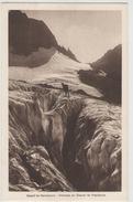 CPA:   Massif De BELLEDONNE (38):     Crevasse Au Glacier De Freydanne.     (c351n) - Escalade